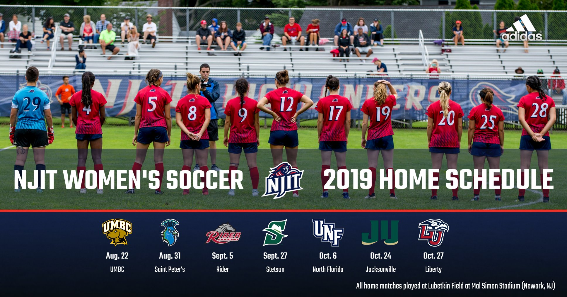 Women's Soccer Announces Schedule For 2019 - New Jersey Institute of